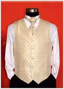 Gold patterned Waistcoat